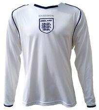 Olorun Football Angleterre Maillot De Supporter - Blanc/Marine - Y-XL