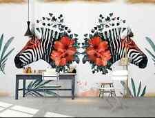3D Rote Zebrastreifen 372 Fototapeten Wandbild Fototapete BildTapete Familie DE