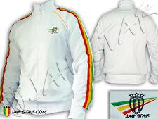Rasta Jacket Rastafarian Lion Jah Star Wear Logo Embroidered