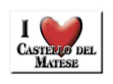 CALAMITA CAMPANIA FRIDGE MAGNET MAGNETE SOUVENIR LOVE CASTELLO DEL MATESE (CE)