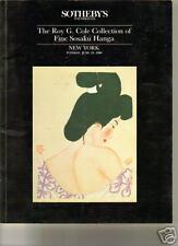 RARE Japanese Prints Junichiro Kiyoshi Koshiro Tadashi