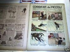 CORRIERE DEI PICCOLI 1910 N 25 con sovracoperta ATTILIO