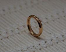 Qudo Famosa Ring Narrow  - Rose Gold/Plated- Interchangable Swarovski Crystalsf
