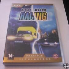 NIGHT WATCH RACING gioco pc originale corse NUOVO ITA