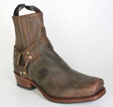 8286 Sendra botín blues Mad Dog tan lavado rahmengenähte zapatos