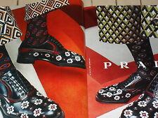 PUBLICITE  2012  PRADA   chaussures ( 2 pages)