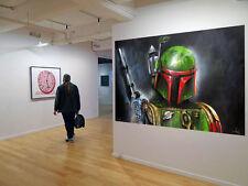 Original Street Art Star Wars Design prints canvas poster By Andy Baker