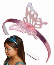 Haarreif, Schmetterling rosa, blau Blumenkind, Hochzeit Mädchen
