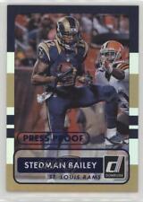 2015 Panini Donruss Press Proof Blue #120 Stedman Bailey St. Louis Rams Card