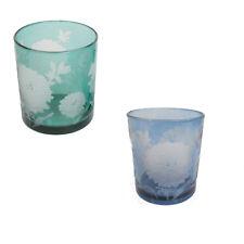 7011 Fleurs design porte-verre de thé léger 2 couleurs disponibles