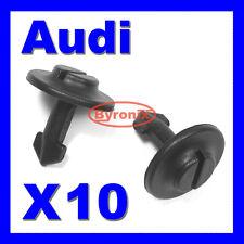 AUDI Undertray Clip ENGINE GUARD COPERCHIO INFERIORE SCUDO A2 A4 A6 A8
