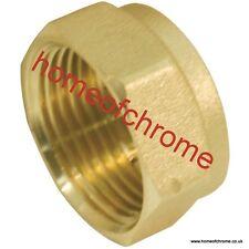 Brass Blanking Cap end Cap Various Sizes