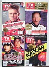 Lot 4 TV GUIDES 2003-2005 NASCAR Dale Earnhardt