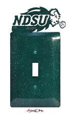 SWEN Products NORTH DAKOTA STATE NDSU BISON Light Switch Plate Covers