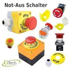 Not Aus Not-Aus Schalter | Emergency Stop | Pilzkopfschalter | Mushroom head