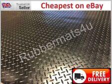 1BAR checker plate studded 559 Garage Van Taxi Rubber Flooring Matting 1.5m wide