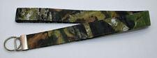 Handmade Custom Mossy Oak Camouflage Key Chain/Ring Lanyard.