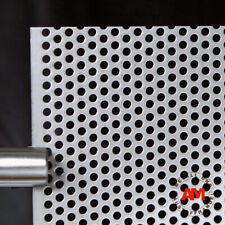 Aluminium Lochblech Rv 5-8 in Stärke 0,8mm, 1,0mm, 1,5mm Alu Lochblech nach Maß