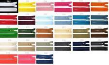 Reißverschluss 40cm * 5mm grob * teilbar * für Jacken * Profil Kunststoff Krampe