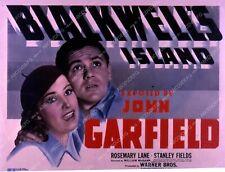 35m-10372 John Garfield Rosemary Lane film Blackwell's Island 35m-10372