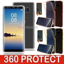 NUEVO ANTICHOQUE Silicona 360 Híbrido COMPLETO Funda para Samsung Galaxy Note 8