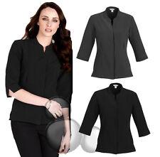 Ladies 3/4 Sleeve Shirt Size 6 8 10 12 14 16 18 20 22 24 Business Hospitality