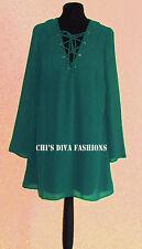 ASOS Lace Up Swing Mini Dress 10,12, 14, 16, 18