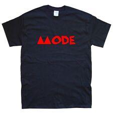 DEPECHE MODE II T-SHIRT sizes S M L XL XXL colours Black, White
