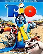 Rio (Blu-ray Disc, 2011, Canadian French + DVD) VG