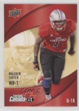 2013 Upper Deck USA Football Canada Rivals #C-4 Malcolm Carter Rookie Card