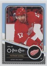 2011-12 O-Pee-Chee #339 Patrick Eaves Detroit Red Wings Hockey Card