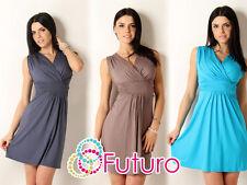 Sexy & Elegant Women's Dress Sleeveless V Neck Tunic Size 8-12 8958