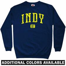 Indy 317 Sweatshirt - 500 Indianapolis Pacers Colts Indiana Crewneck - Men S-3XL