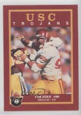 1989 Smokey Bear USC Trojans #TIRY Tim Ryan Rookie Football Card