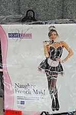 Secret Wishes Naughty French Maid Women's Halloween Costume F5245