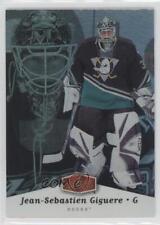 2006 Flair Showcase #1 Jean-Sebastien Giguere Anaheim Ducks (Mighty of Anaheim)