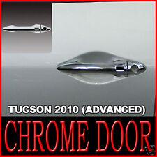 Chrome Door Handle Cover 8p Advanced For 10 11 12 13 14 Hyundai Tucson ix35