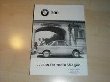 30169) BMW 700 Coupe Prospekt 1960
