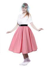 Pink Full Circle Skirt - 1950s Retro Swing Dance Peggy Sue by Hey Viv !