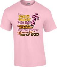 Christian Truth Talkin Heart Blessin Prayer Jesus Lovin Child of God T-Shirt