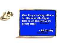 Everton de mirar hacia abajo la tabla Anti citar Pin De Solapa Insignia