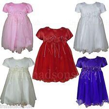 NEW enfants bébé fille soirée robes de mariée habillé demoiselle d'honneur Robe