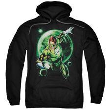 Green Lantern Galaxy Glow Mens Pullover Hoodie