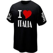 T-Shirt I LOVE ITALIA italie Maillot ★★★★★