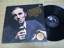 CHARLES AZNAVOUR-Golden Prize Vol.2  Japan LP