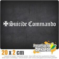 Suicide Commando csf0167 20 x 2 cm JDM  Sticker Aufkleber