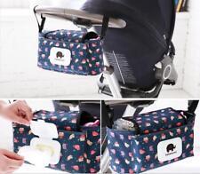 Pram Stroller Storage Buggy Cup Bottle Holder stroller Organiser Mummy Bag