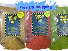 Bag 2 KG Coarse, Carp, Match Fishing Bait Groundbait Over 100 Flavours Deal