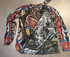 ORIGINAL RUDE RIDERS Damen SHIRT CAPE TUNICA UMHANG  R02642 Rw50