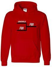 Rick Pitino Louisville Cardinals Fbi Tournament Bracket shirt Hooded Sweatshirt